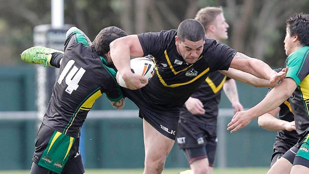 Prop Chance Tauri was one of the stars in Randwick's win over Wainuiomata on Saturday.