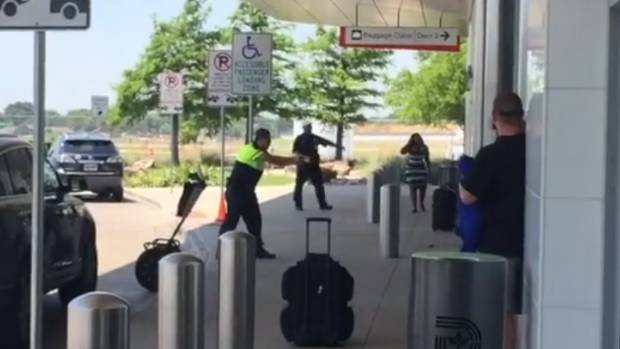 Dallas airport shut down after shooting