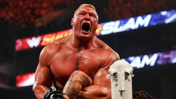 Brock Lesnar Earns His Blue Belt In Jiu-Jitsu