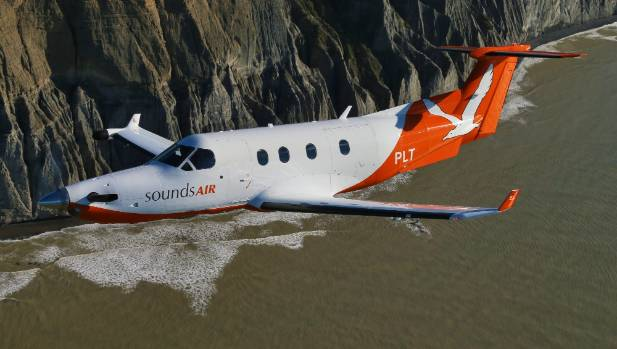 Sounds Air expects business travellers to fill most of the seats on its new Christchurch to Blenheim route.