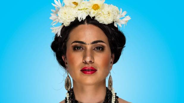 Kali Kopae stars in Circa's production of La Casa Azul, inspired by the life and works of Frida Kahlo.