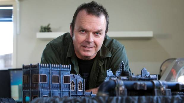 Matt Barker is selling 3D-printable scenery for tabletop wargaming.