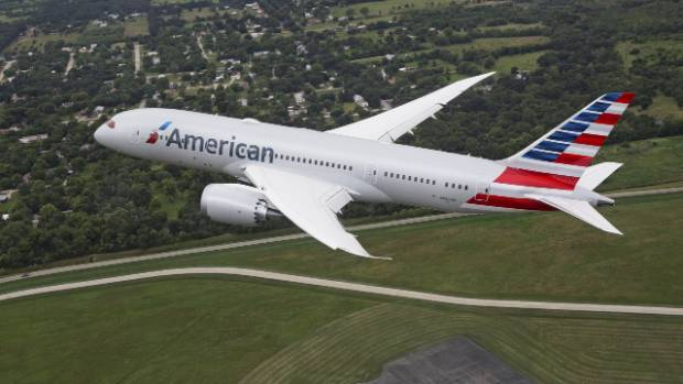 travel news american airlines auckland route