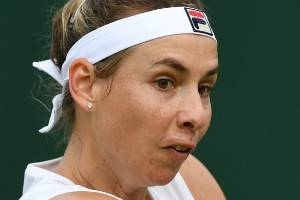 Marina Erakovic produced 46 winners against Jelena Jankovic in the second round at Wimbledon.