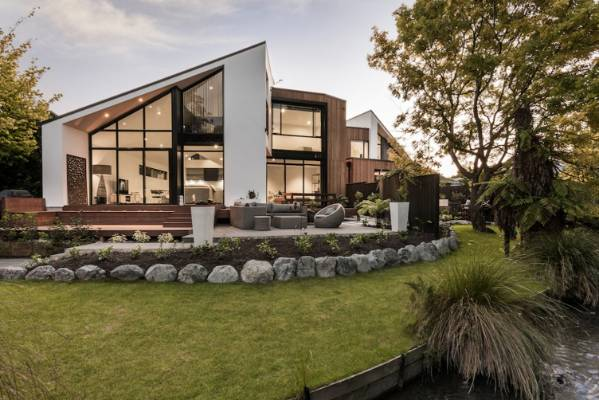 Architectural design awards showcase the best of for Residential landscape design christchurch