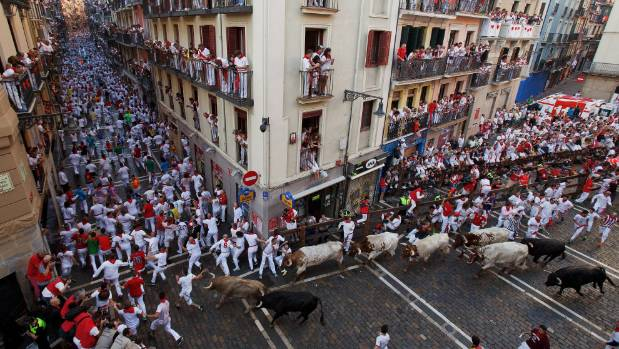 Spain's San Fermin bull-running week kicks off without gorings