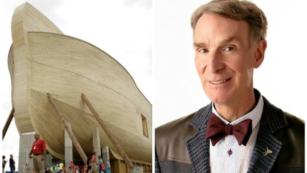 Group says it's warning schools about Noah's ark attraction