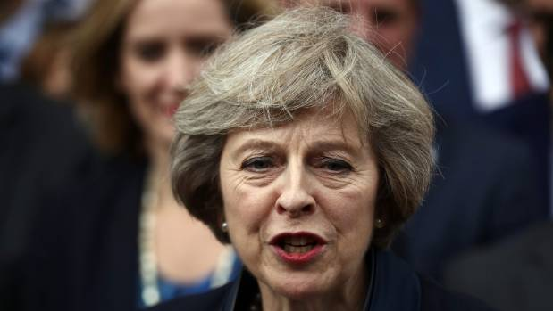 Britain's May wins PM race after pro-Brexit rival quits LONDON