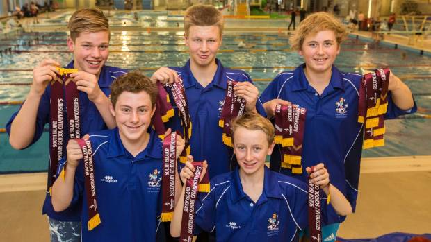 Timaru Boys 39 Swimmers Dominate At South Island Championships