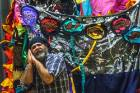 Artist Ron Te Kawa makes, creates and performs with puppets, quilts and backdrops to entrance his audience in the FX ...