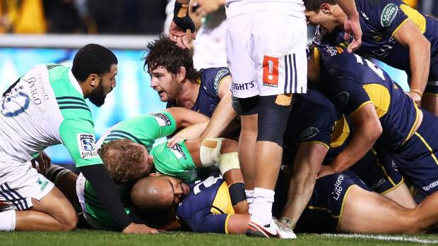 Hurricanes blow away Sharks to reach Super semis