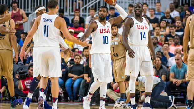 Olympics: Warriors' trio helps Team USA rout Argentina 111-74
