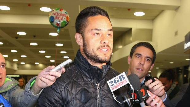 Jarryd Hayne returns to the National Rugby League
