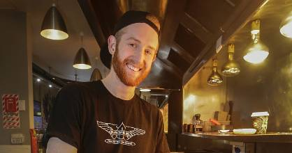 Griffiths has had several jobs while studying architecture at Victoria University, including flipping burgers at Burger Fuel.