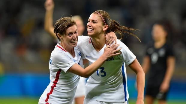 Rio Olympics: Cal alum Alex Morgan highlights USWNT's win over New Zealand