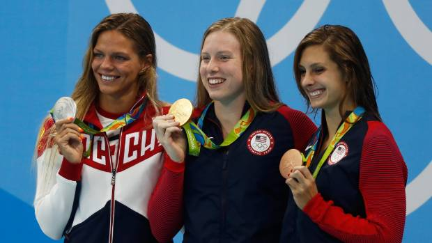 Lilly King bangs drum, but others need to clean up the mess