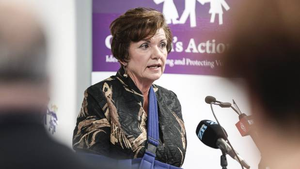 Vulnerable Children's Minister Anne Tolley: 'I'll call it, 'my ministry'