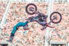 Kiwi Levi Sherwood riding in Nitro Circus Live. The tour will come to Nelson in February next year.