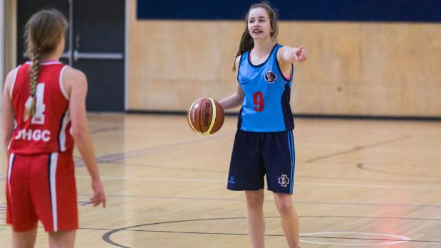 Palmerston North Girls' High School basketballer Maddi Chrystal and her team are staying in a holiday park during the ...