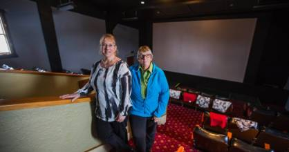 The Majestic Theatre in Taihape is to get a $80,000 to upgrade to a digitised projection system. Left, manager Simone ...