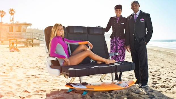 Air New Zealand's 'Surfing Safari' safety video condemned for 'extraneous content'
