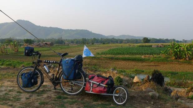 Rohfritsch has cycled across 25,000 kilometres to raise awareness about the global water crisis.