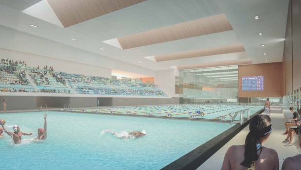 Christchurch 39 s metro sports facility to be largest leisure for 50m pool design