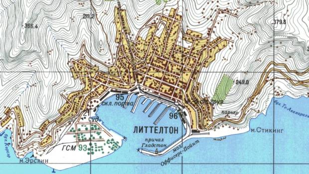 Newzealand Detail: Revealed: The Secret Cold War Maps Of New Zealand Made By