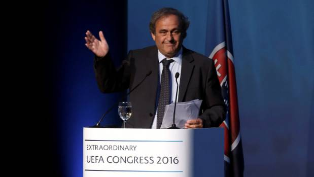 Slovenian Ceferin succeeds Platini as UEFA president following landslide election
