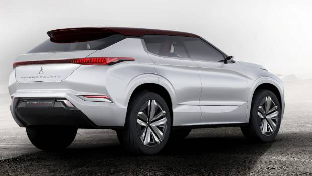 Mitsubishi unveils new GT-PHEV Concept