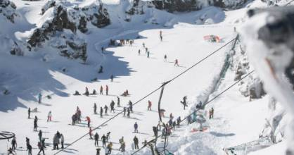 Thanks to a late dumping of snow, the skifields at Mt Ruapehu will be popular during the school spring break.