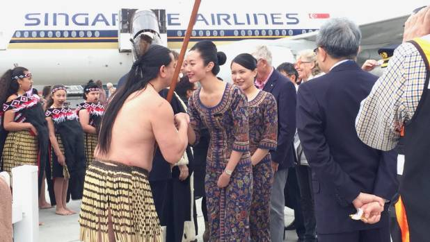 travel news singapore airlines says bookings wellington flights encouraging