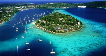 Iririki Island Resort & Spa is one of the most photographed parts of Port Vila.