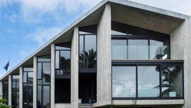 Grand Designs Nz Ambitious Concrete House Brings Unseen