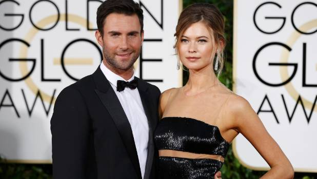 Adam Levine and Behati Prinsloo share first adorable pic of newborn