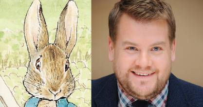 James Corden is set to be the voice of Peter Rabbit.
