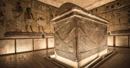Tomb of Ay, the penultimate king of Egypt's 18th dynasty and the successor to King Tutankhamun.