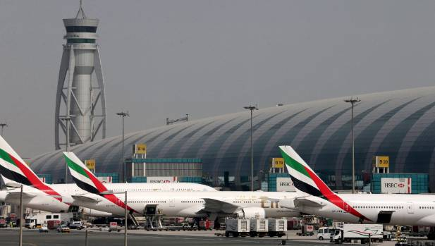 Emirates Airlines aircrafts are seen at Dubai International Airport, United Arab Emirates May 10, 2016. REUTERS/Ashraf ...