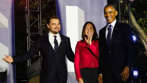 Obama, DiCaprio team up against climate change