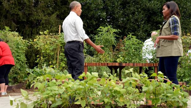 First Lady Michelle Obama Is Going All Out To Preserve White House Garden