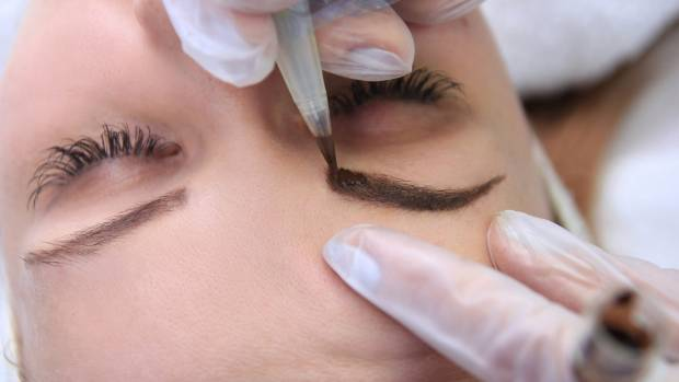 Brow tattooing will ensure they stay put when you take a dip.
