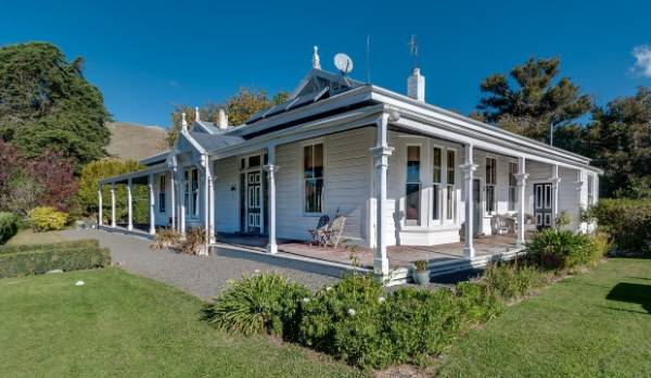 The Hilton Station homestead in Havelock North was built in 1871 by Robert Henry Mackenzie, the great-great grandfather ...