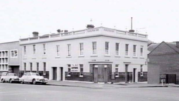 The Corkman - once known as the Carlton Inn - was almost 100 years old when this photo was taken in 1957.