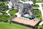 The mansion previously leased to Kim Dotcom boasts 12 bedrooms, seven ensuites, a vineyard and tennis court.