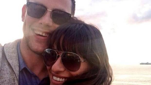 LEA MICHELE AND CORY MONTEITH: Thank you all for helping me through this time with your enormous love & support. Cory ...