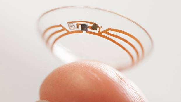 FORGET GLASS: Google is now working on an actual smart contact lens to insert into your eye.