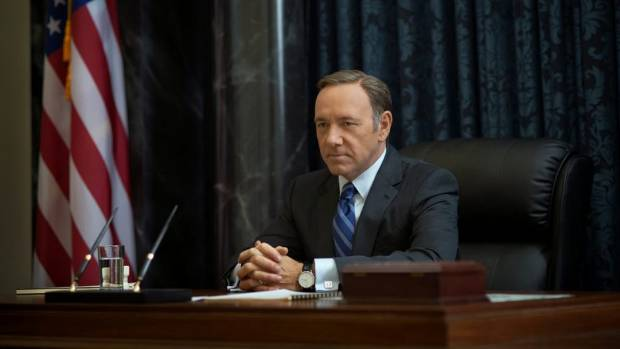 RIGHT TO PRIVACY: Kevin Spacey plays corrupt Congressman Frank Underwood in Netflix's House of Cards.