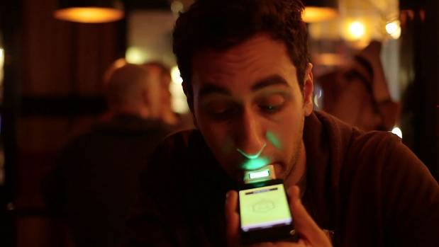 LIVR: Joke app supposedly only lets users in once they reach a certain level of toxicity.