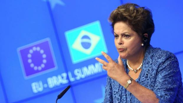 ANTI-SPYING MEASURES: Brazil's President Dilma Rousseff.