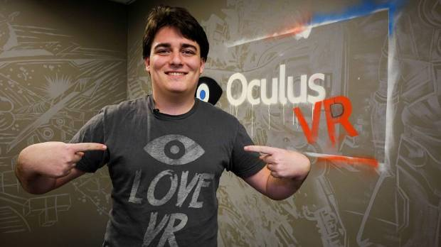 IDEA MAN: Palmer Luckey, the 21-year-old founder of the Oculus VR Company, at the company's headquarters in Irvine, ...